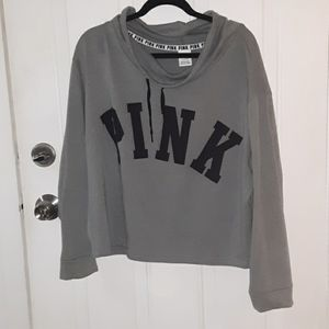 PINK crowl neck pullover